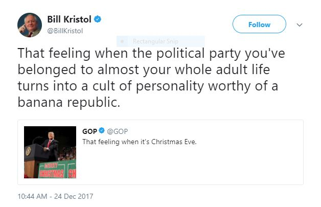 attack on democracy tweet by bill kristol