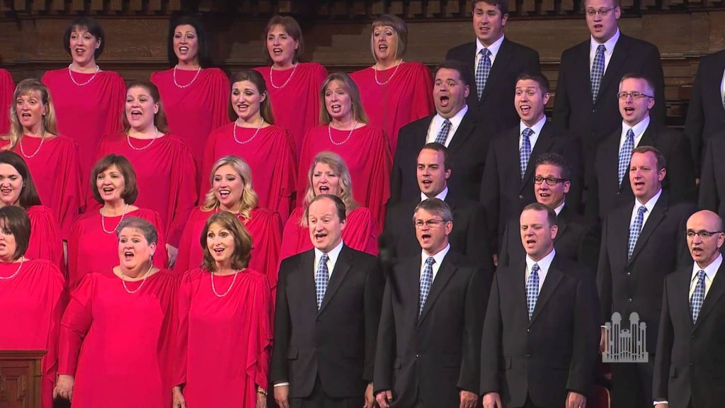 trump infrastructure with mormon tabernacle choir