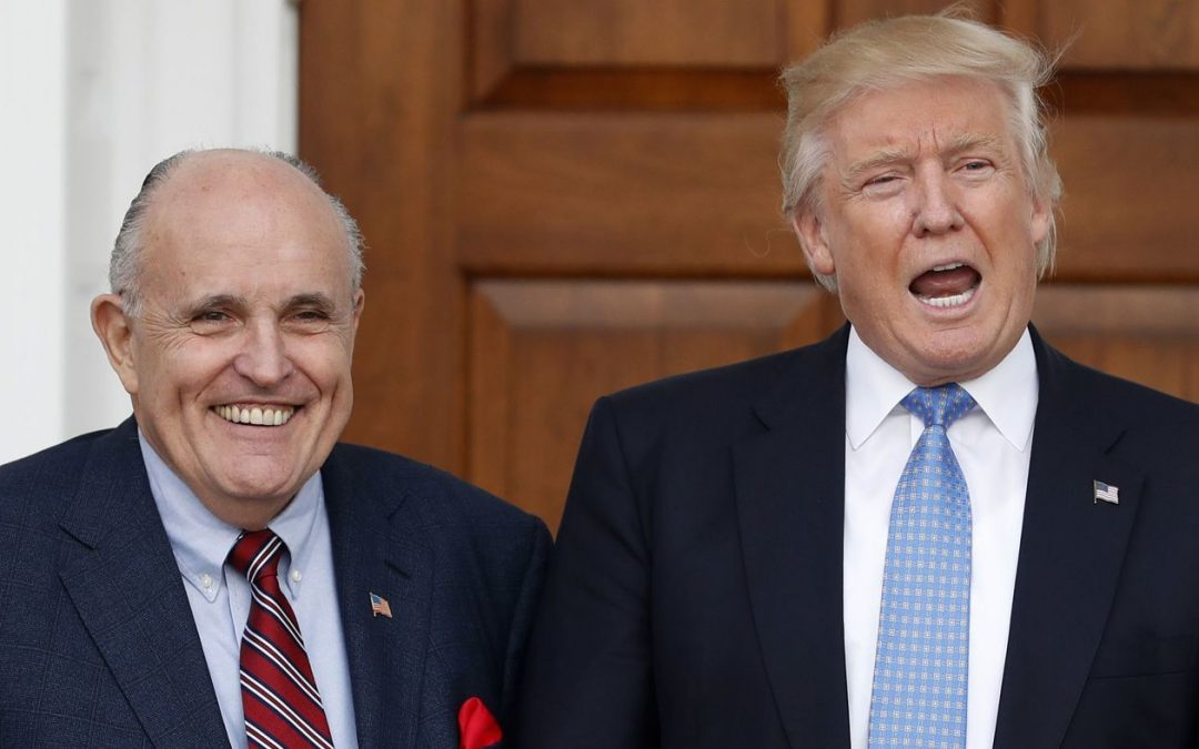 Part One – Rudy Giuliani Has Lost His Fastball